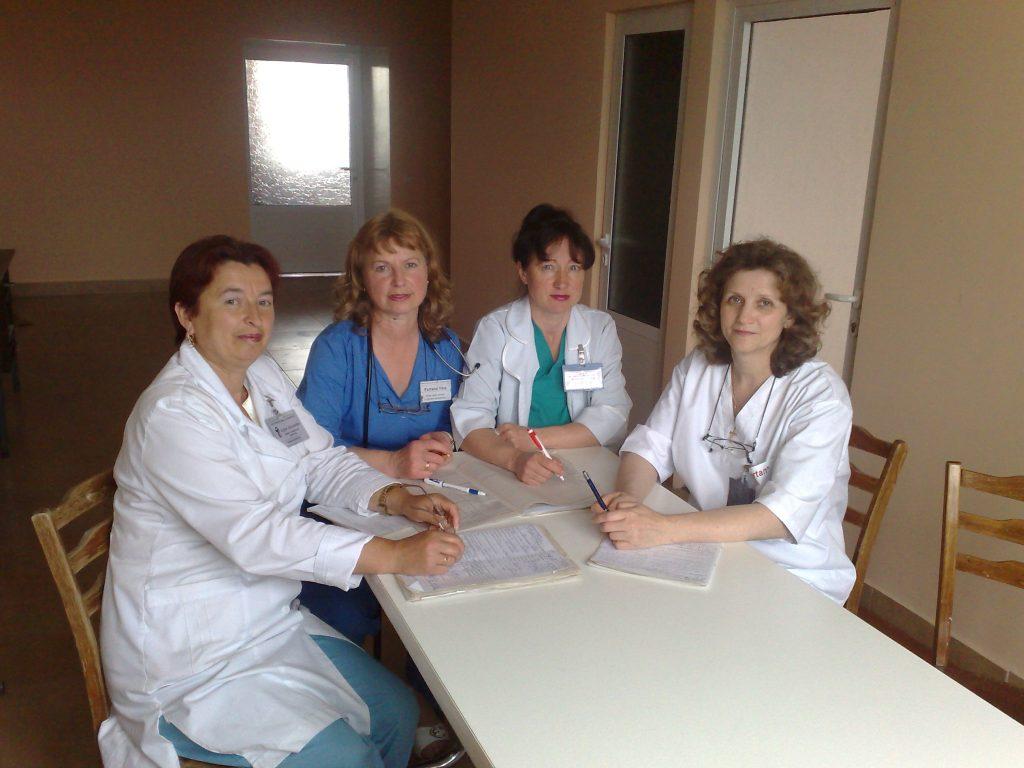 Lucrul cu fisele pacienților
