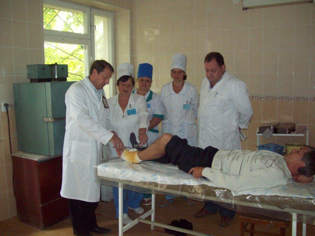 Traumatologii în proces de ajutor medical